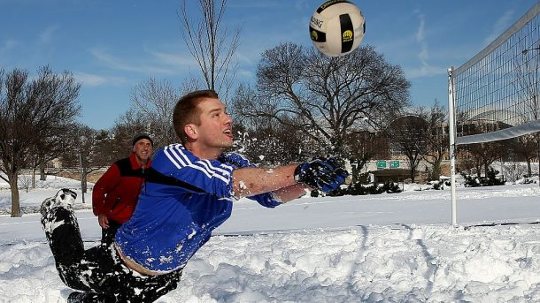 Snow Volleyball Exhibition Set for PyeongChang Olympics