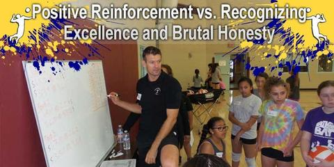 Positive Reinforcement vs. Recognizing Excellence and Brutal Honesty