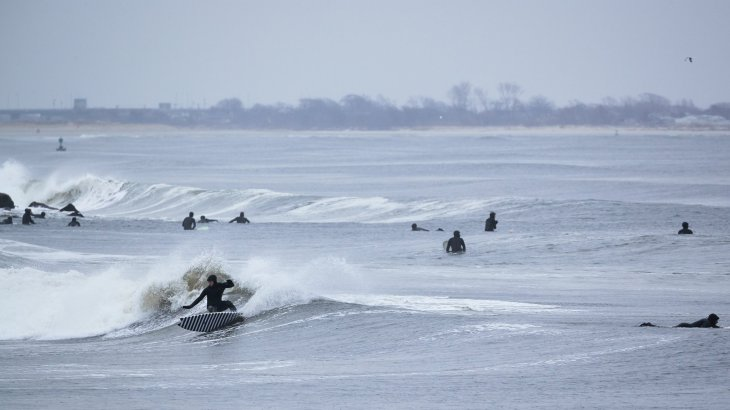 When Surfing Rockaway, It's Watch Out or Wipeout