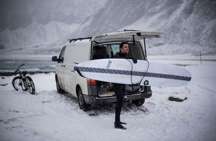 Photos: Surfing Norway in Sub-Zero Temperatures