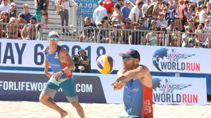 U.S. Olympians Secure Gold in Beach Volleyball Major Series Tournament