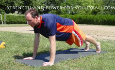 volleyball-pushup-topVolleyball Workouts Multi-joint Exercises for Volleyball