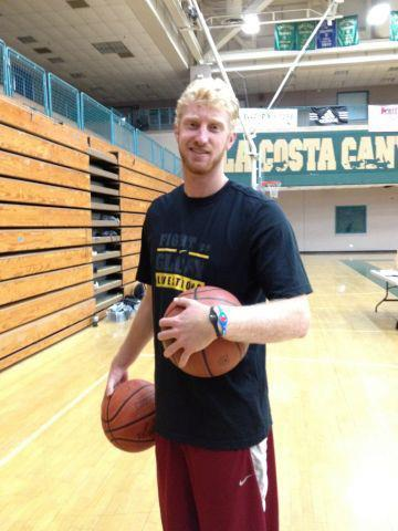 Encinitas Native Goes From NBA to Beach Volleyball Court