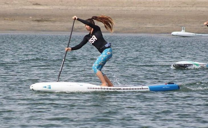Jade Howson is 15 -- and Already One of the Best in the World in Stand-Up Paddleboarding