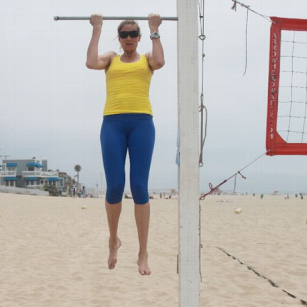 The move I love to hate: Kerri Walsh Jennings' Two-Part Pull-ups