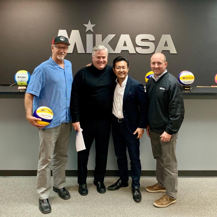 Sinjin Smith, Stephen Ascher, Jr., Masa Fukui, John Flaherty